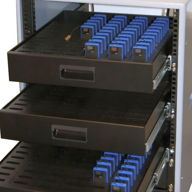 Ladeeinheit für Personenführungsanlagen 60 Geräte