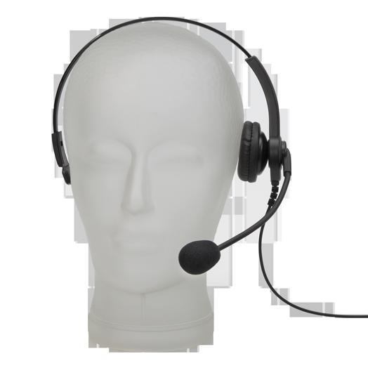 TOM-Audio HS-4010 Überkopf Hör-Sprech-Garnitur