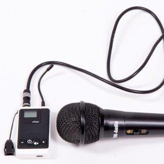 TOM-Audio Handmikrofon DM-20 modifiziert