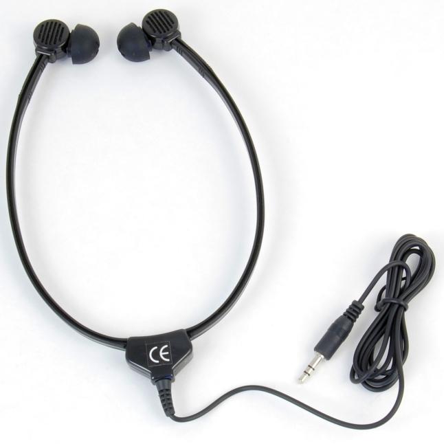 TOM-Audio MMEP-115 Stethoskop Zwei-Ohr-Hörer Kinnbügel