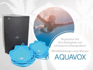 Unterwasserlautsprecher Aquavox von BMS