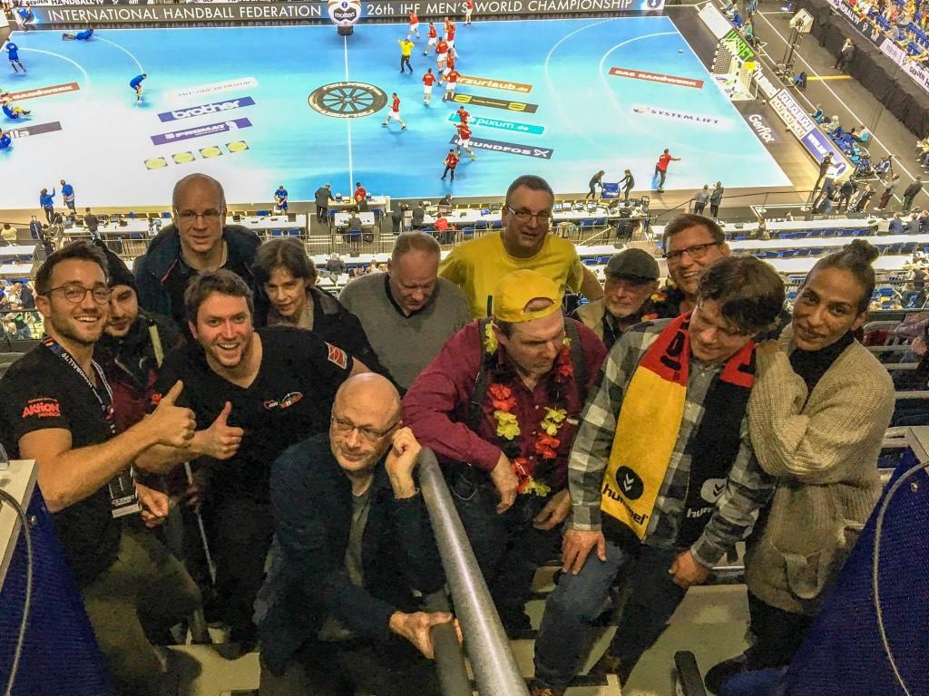 Besucher der Handball-WM 2019