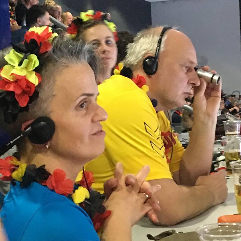 Besucher der Handball-WM