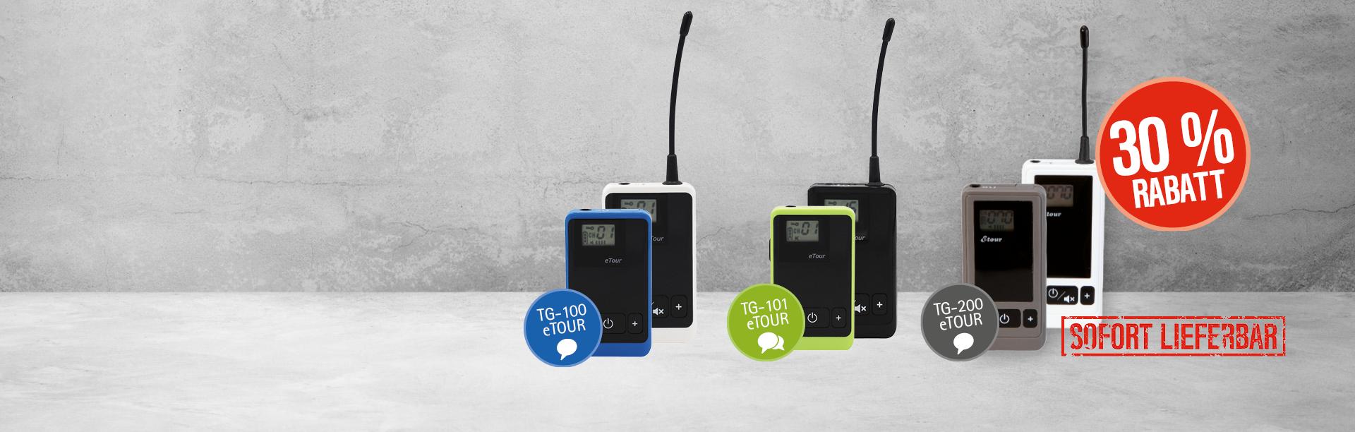 Personenführungsanlage Rabatt TOM-Audio Angebot