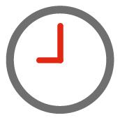 Anlieferung und Testphase - Uhr